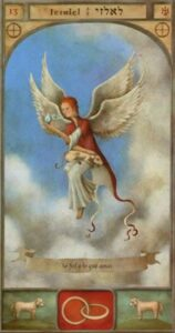 13 – Yezalel – Querubim – Anjo