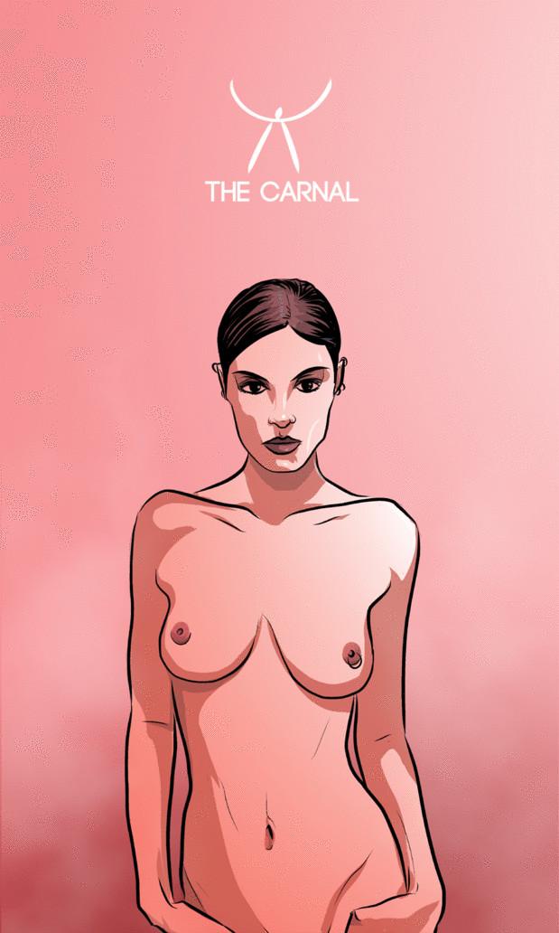 Arte - The Carnal - Os Quarenta Servidores de Tommie Kelly - Magia do Caos