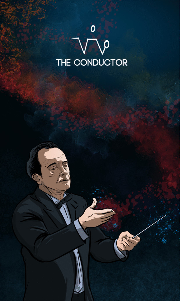 Arte - The Conductor - Os Quarenta Servidores de Tommie Kelly - Magia do Caos