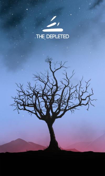 Arte - The Depleted - Os Quarenta Servidores de Tommie Kelly - Magia do Caos