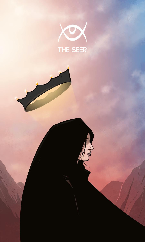Arte - The Seer - Os Quarenta Servidores de Tommie Kelly - Magia do Caos