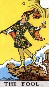 Carta de Tarot – O Louco – The Fool