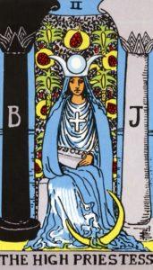 Carta de Tarot – A Sacerdotisa – The Priestess