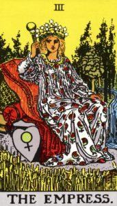 Carta de Tarot – A Imperatriz – The Empress