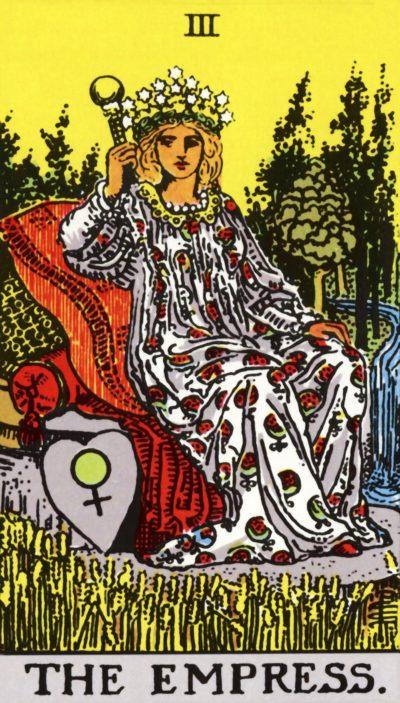 Arte - A Imperatriz - Arcano Maior 3 - Magia do Caos