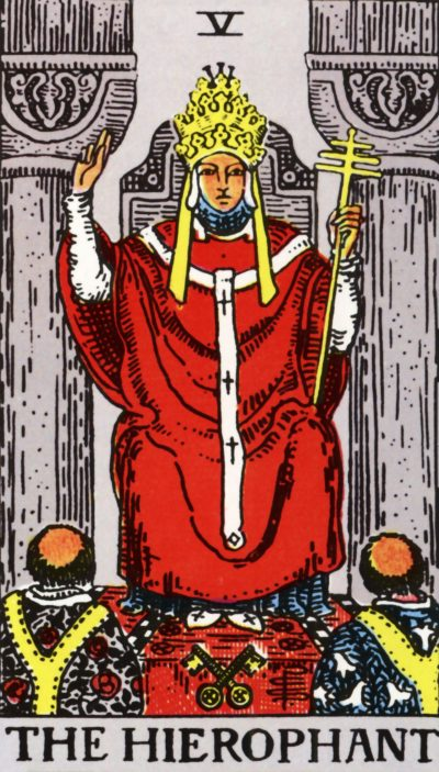 Arte - O Hierofante - Arcano Maior 5 - Magia do Caos