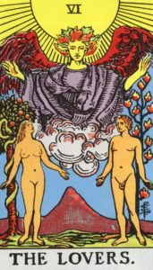 Carta de Tarot – Os Enamorados – The Lovers