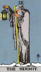 Carta de Tarot – O Eremita – The Hermit
