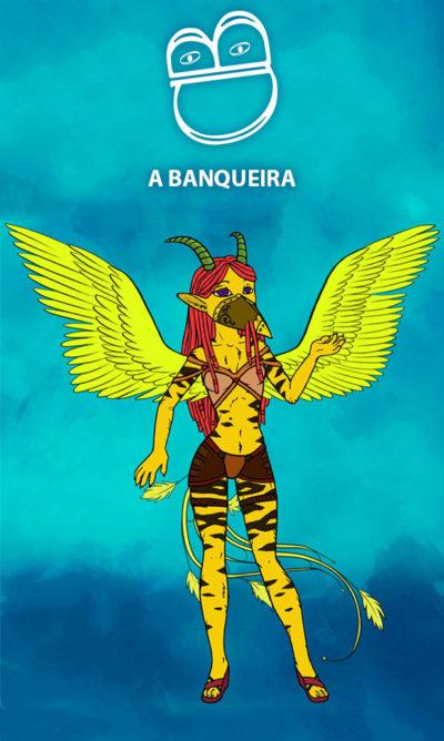 Arte - A Banqueira - Magia do Caos