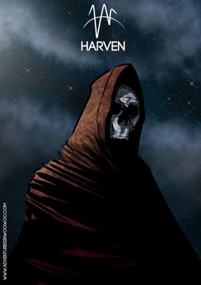 Arte - Harvem - Magia do Caos