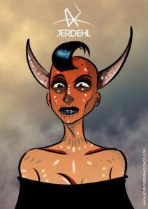 Arte - Jerdehl - Servidor Servo Público - Magia do Caos' alt='Arte - Jerdehl - Servidor Servo Público - Magia do Caos