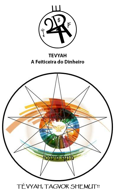 Arte - Tévyah - Servidor Servo Público - Magia do Caos