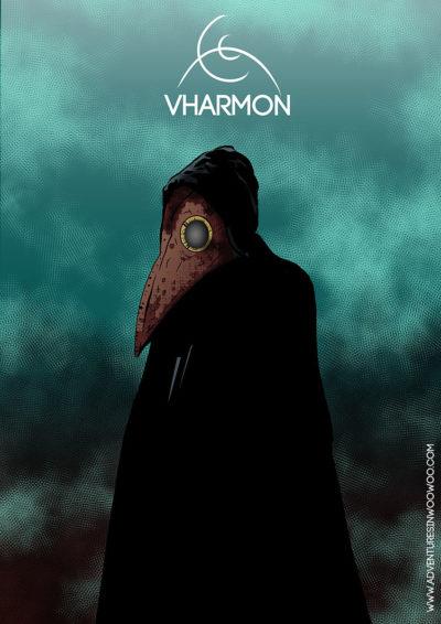 Arte - Vharmon - Servidor Servo Público - Magia do Caos