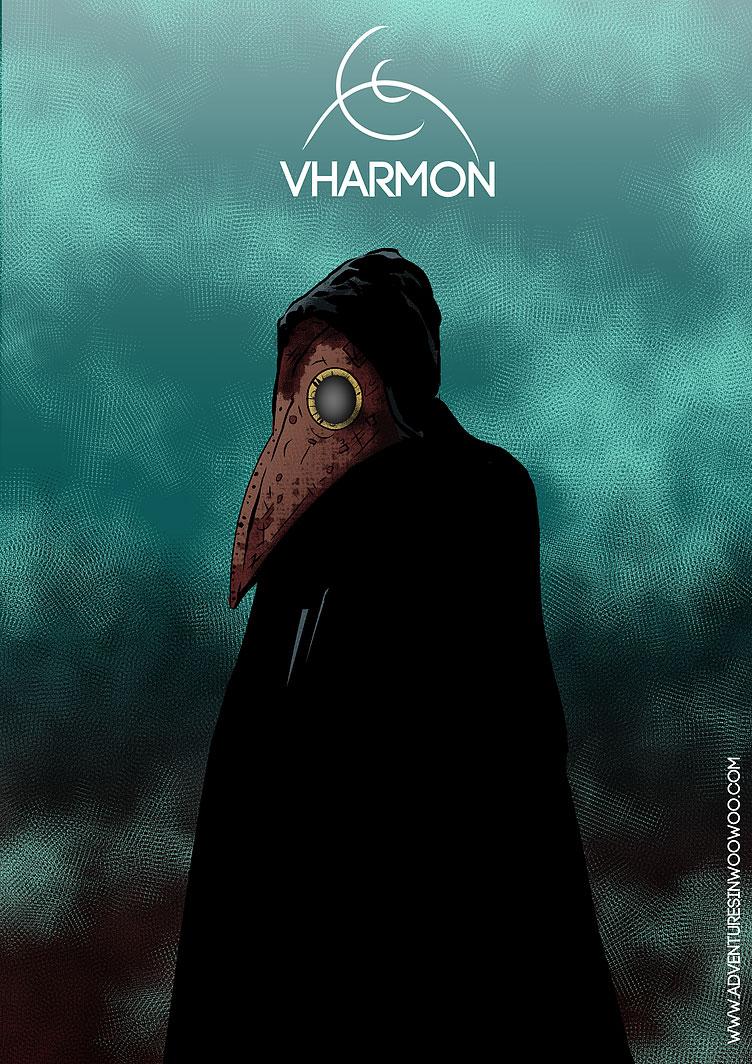 Arte - Vharmon - Magia do Caos