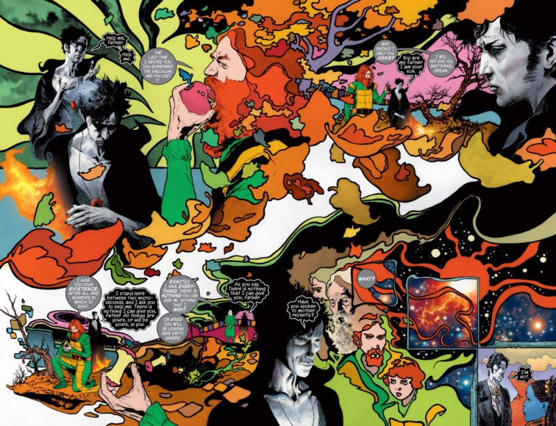 Imagem: DC Abstract Entities-Time-The Sandman—Overture #4 (2015)—Page 6