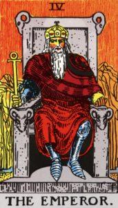 Carta de Tarot – O Imperador – The Emperor
