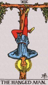Carta de Tarot – O Enforcado – The Hanged Man
