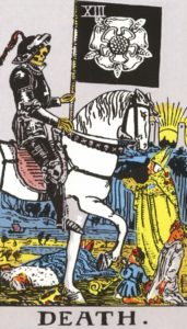Carta de Tarot – A Morte – The Death