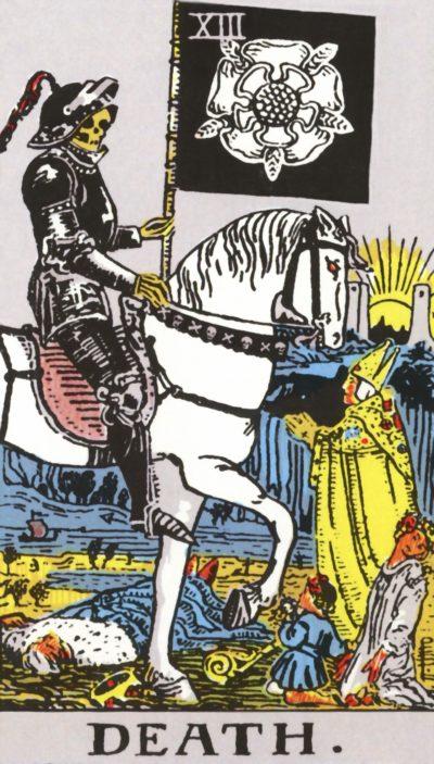 Arte - A Morte - Arcano Maior 13 - Magia do Caos