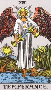 Carta de Tarot – A Temperança – The Temperance