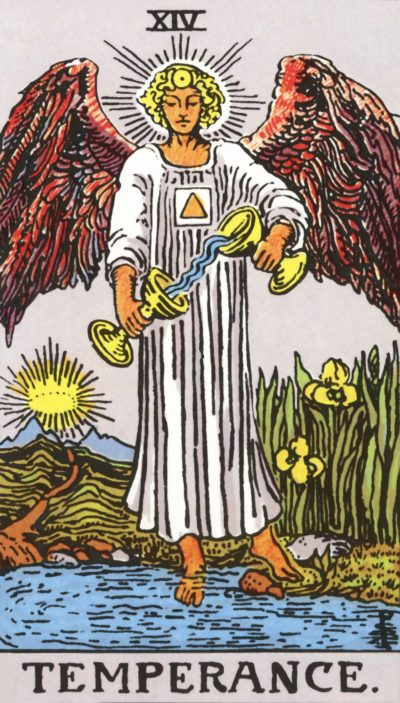 Arte - A Temperança - Arcano Maior 14 - Magia do Caos