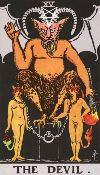 Arte - O Diabo - Arcano Maior 15 - Magia do Caos