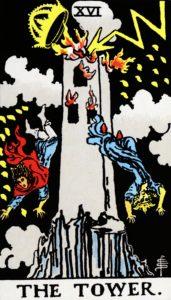 Carta de Tarot – A Torre – The Tower