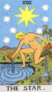 Carta de Tarot – A Estrela – The Star