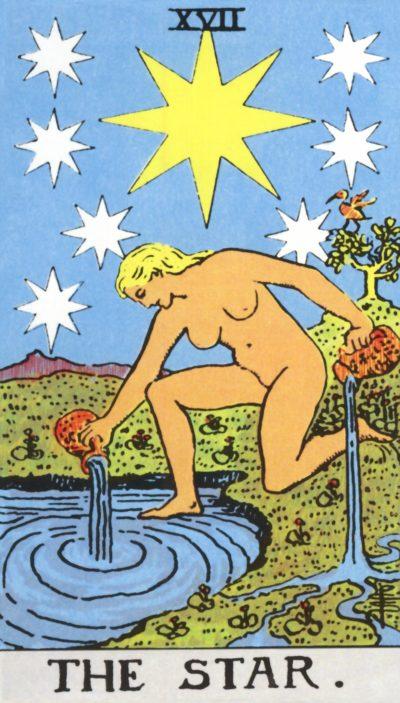 Arte - A Estrela - Arcano Maior 17 - Magia do Caos