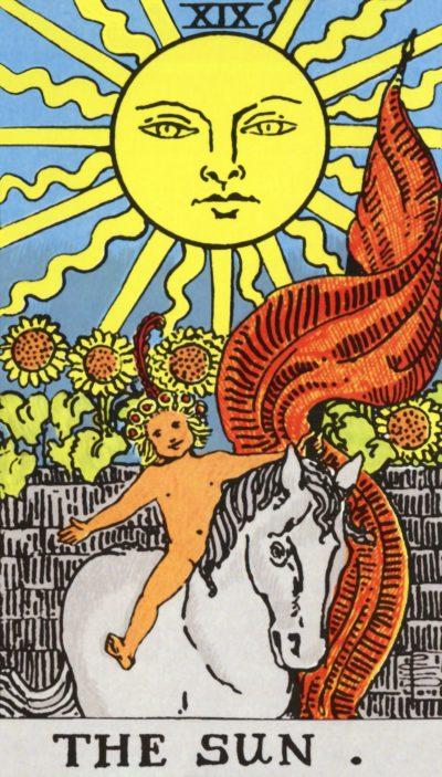 Arte - O Sol - Arcano Maior 19 - Servidor Servo Público - Magia do Caos