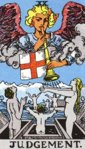 Carta de Tarot – O Julgamento – The Judgment
