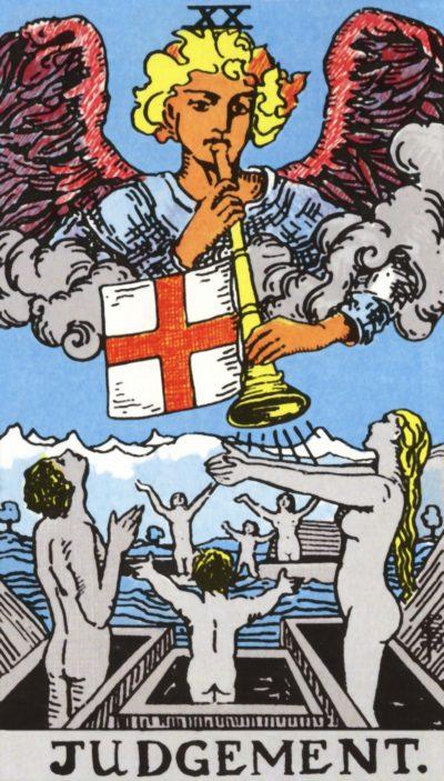 Arte - O Julgamento - Arcano Maior 20 - Magia do Caos