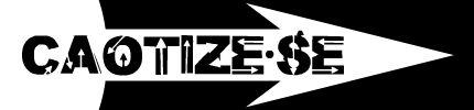 Caotize-se Logotipo