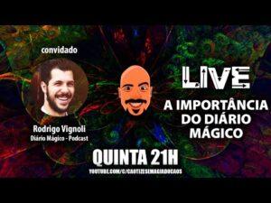 Live – Diário Mágico com Rodrigo Vignoli