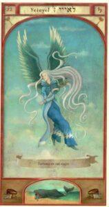 22 – Yeiaiel – Trono – Anjo