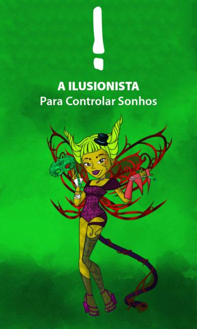 Arte - A Ilusionista - Servidor Servo Público - Magia do Caos