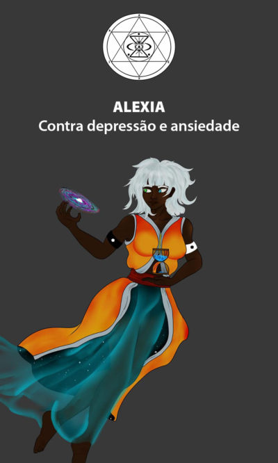 Arte - Alexia - Magia do Caos