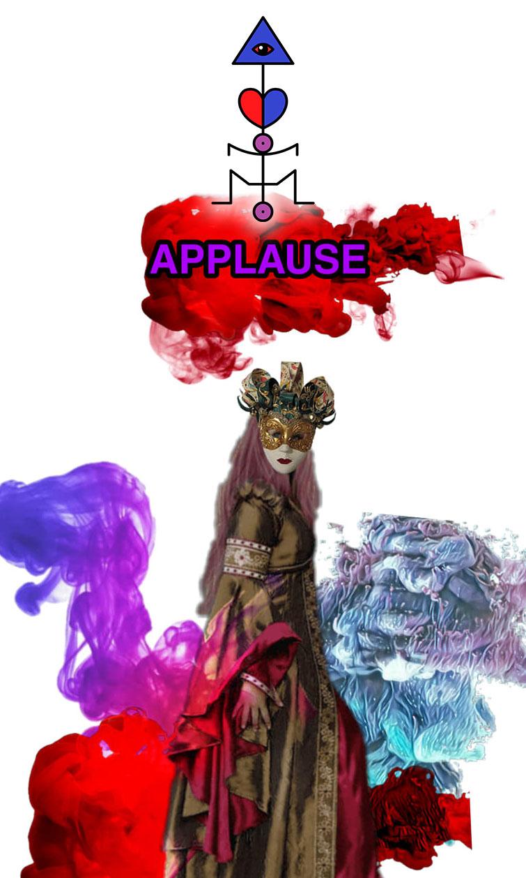 Arte - Applause - Magia do Caos