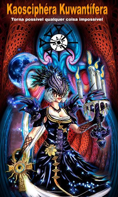 Arte - Kaosciphéra Kuwantífera - Magia do Caos