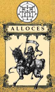 Daemon Alloces – 52º Espírito da Goétia