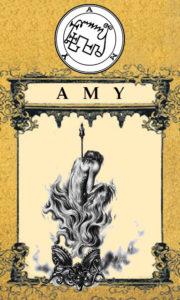 Daemon Amy – 58º Espírito da Goétia