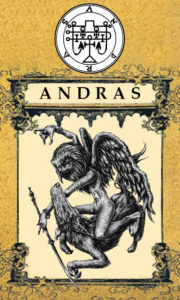 Daemon Andras – 63º Espírito da Goétia