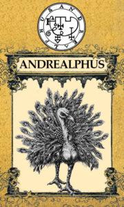 Daemon Andrealphus – 65º Espírito da Goétia