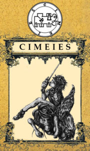Daemon Cimeies – 66º Espírito da Goétia