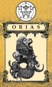 Daemon Orias – 59º Espírito da Goétia