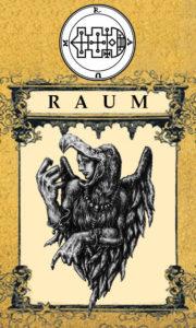 Daemon Raum – 40º Espírito da Goétia