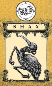 Daemon Shax – 44º Espírito da Goétia