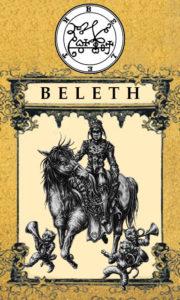 Daemon Beleth – 13º Espírito da Goétia