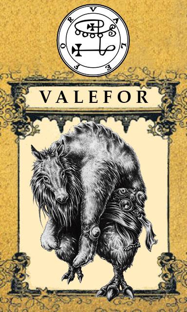 Arte - Valefor - Magia do Caos