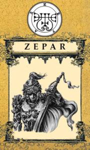 Daemon Zepar – 16º Espírito da Goétia